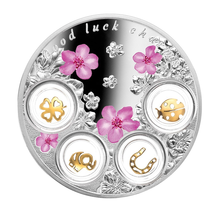 buy 5 silver coin quot luck charms quot lucky talisman