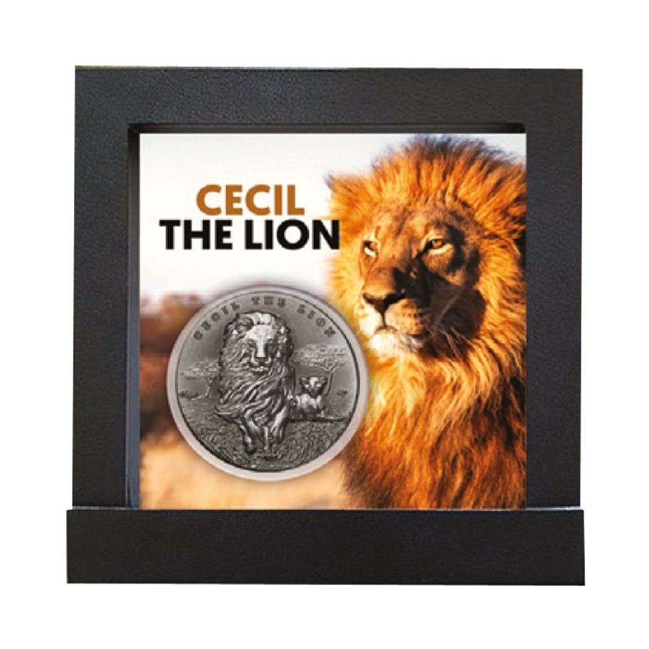 Buy 2000 cfa silver coin cecil the famous lion cameroon 2018