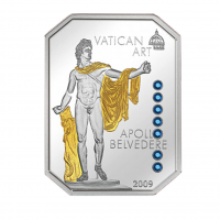 "5$ Silver Coin - ""APOLLO BELVEDERE"" - Vatican Art - Cook Islands 2009"