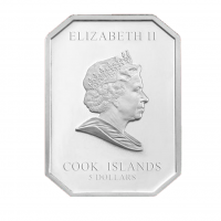 "5$ Silver Coin - ""PIETA"" - Vatican Art Series - Cook Islands 2009"