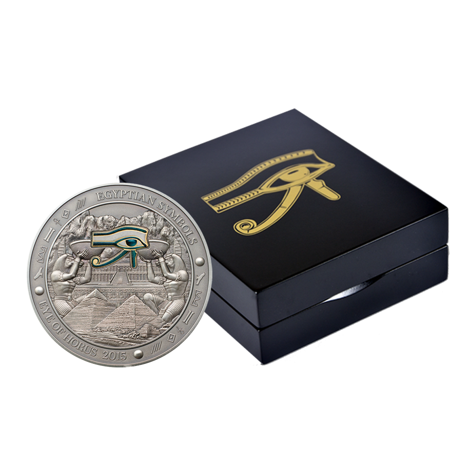 Kaufen 20 Silbermünze Eye Of Horus ägyptische Symbole Serie