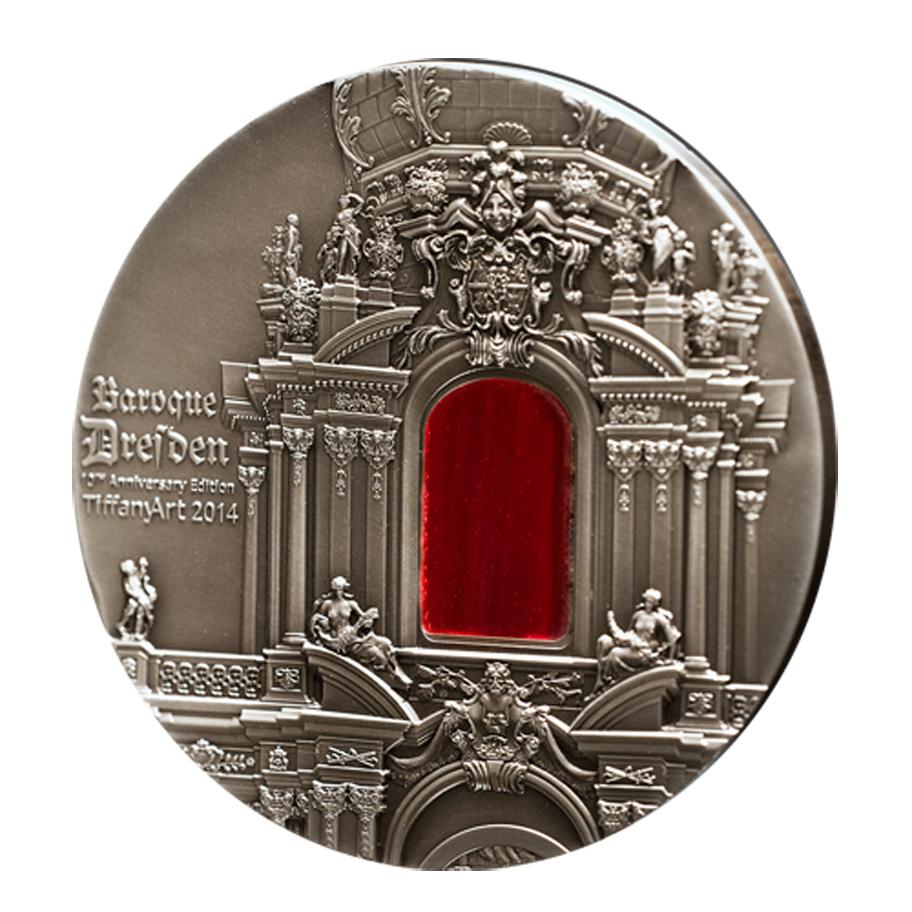 Kaufen 10 Dollar Silbermünze Barock Dresden Tiffany Art Serie