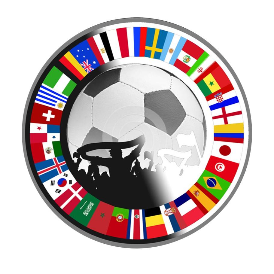 Kaufen 1 Silbermünze Russland Wm 2018 Fußballfans Souvenir