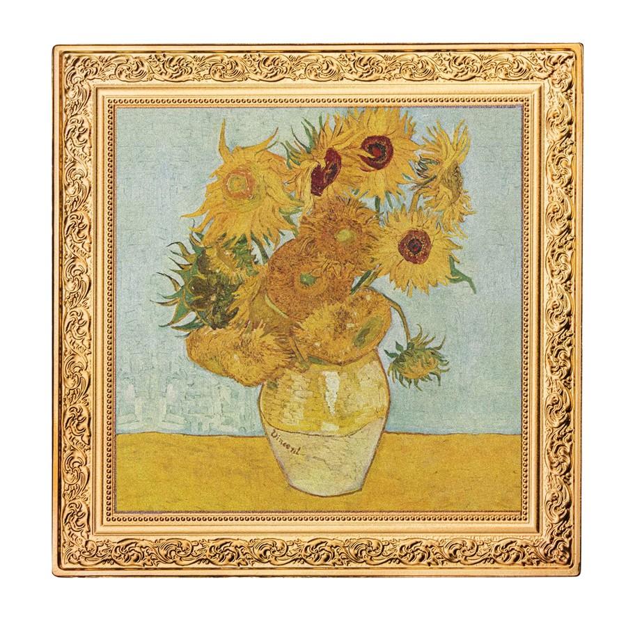 Kaufen 1 Silbermünze Sonnenblumen Vincent Van Gogh