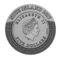 "5$ Silbermünze - ""Zeus - Götter des Olymps Serie"" - Niue Island 2017"